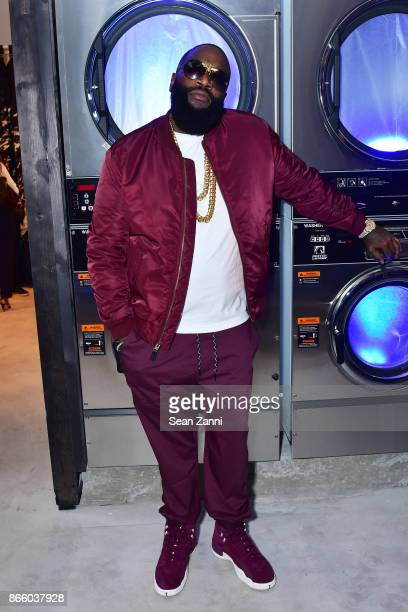 Rapper Rick Ross attends as American Eagle celebrates 40 years at its new AE Studio on October 24 2017 in New York City
