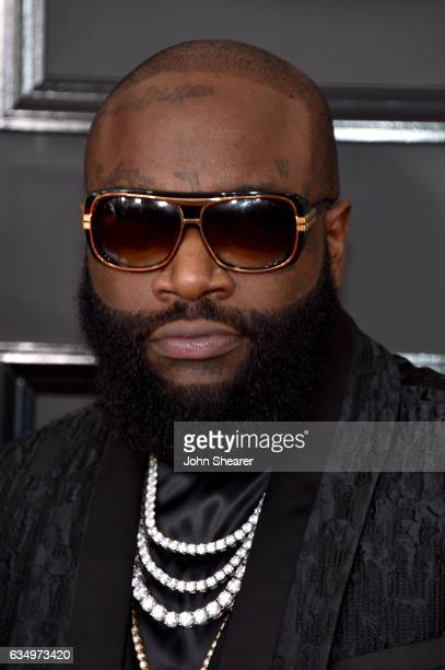 Rapper Rick Ross attends The 59th GRAMMY Awards at STAPLES Center on February 12 2017 in Los Angeles California