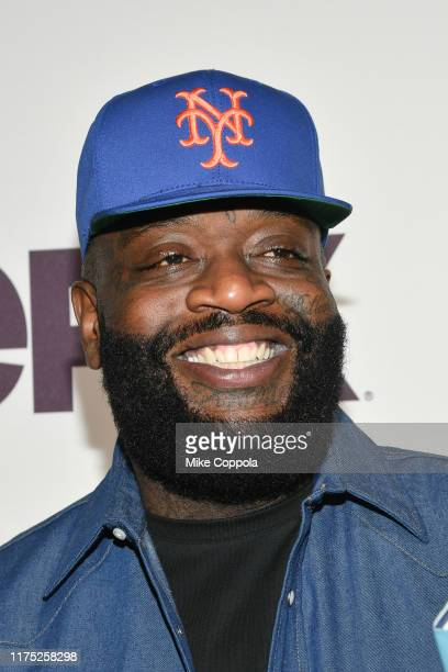 Rapper Rick Ross attends the Godfather Of Harlem New York Screening at The Apollo Theater on September 16 2019 in New York City