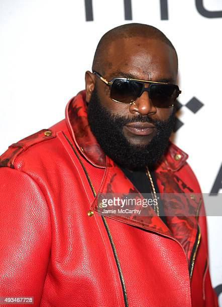 Rapper Rick Ross attends TIDAL X 1020 Amplified by HTC at Barclays Center of Brooklyn on October 20 2015 in New York City