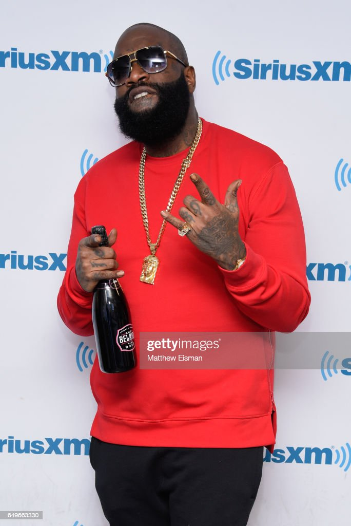 Rapper Rick Ross visits at SiriusXM Studios on March 8, 2017 in New York City.