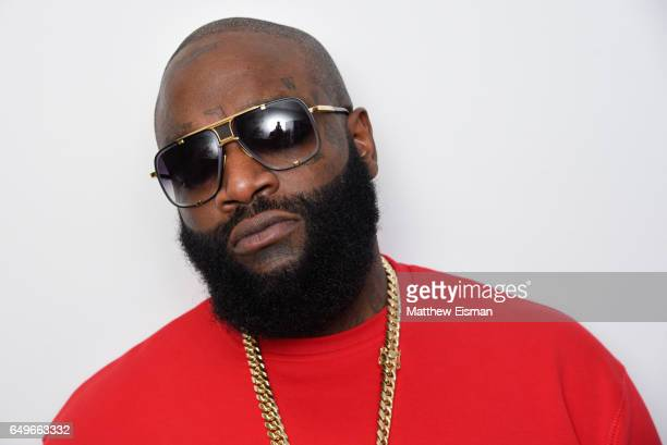 Rapper Rick Ross visits at SiriusXM Studios on March 8 2017 in New York City