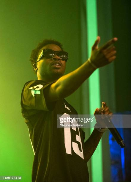 Rapper Roddy Ricch performs during Spotify's RapCaviar Live at Varsity Theater on April 5 2019 in Minneapolis Minnesota