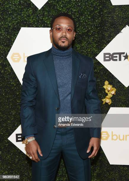 Rapper Romeo Miller arrives at the BET Her Awards Presented By Bumble at The Conga Room at LA Live on June 21 2018 in Los Angeles California