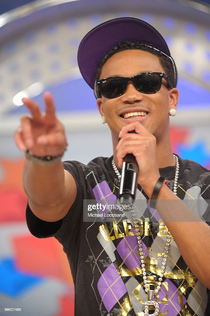 Rapper Romeo visits BET's '106 & Park' at BET Studios on March 24, 2010 in New York City.