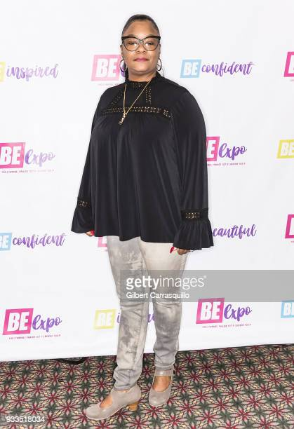 Rapper Roxanne Shante attends the Be Expo 2018 at Pennsylvania Convention Center on March 17 2018 in Philadelphia Pennsylvania