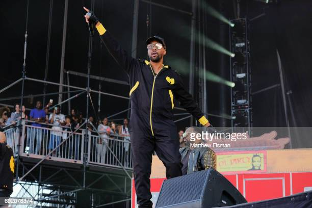 Rapper RZA of the WuTang Clan performs live on stage during the 2017 Governors Ball Music Festival Day 2 at Randall's Island on June 3 2017 in New...