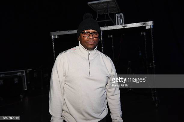 Rapper Scarface backstage at 2016 Old School Hip Hop New Year's Eve Festival at Philips Arena on December 31 2016 in Atlanta Georgia