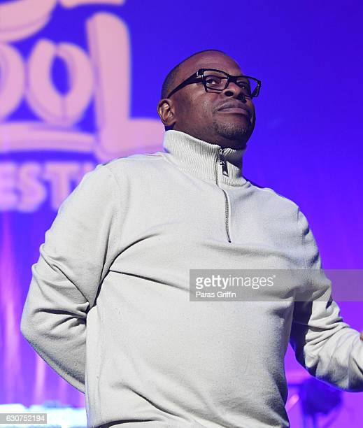 Rapper Scarface performs onstage at 2016 Old School Hip Hop New Year's Eve Festival at Philips Arena on December 31 2016 in Atlanta Georgia