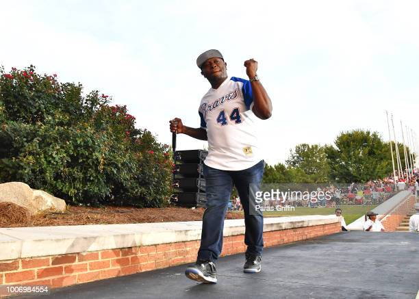Rapper Scarface performs onstage during The Legends of HipHop concert at Wolf Creek Amphitheater on July 28 2018 in Atlanta Georgia
