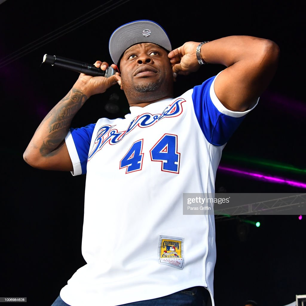 Rapper Scarface performs onstage during 'The Legends of Hip-Hop' concert at Wolf Creek Amphitheater on July 28, 2018 in Atlanta, Georgia.
