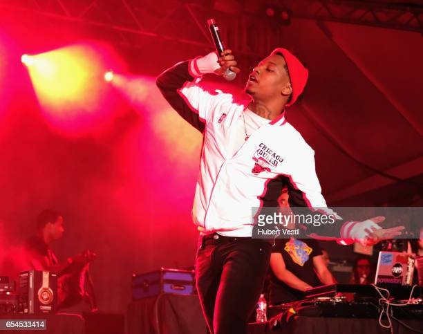 Rapper SD performs onstage at the Mass Appeal music showcase during 2017 SXSW Conference and Festivals at Stubbs on March 16 2017 in Austin Texas
