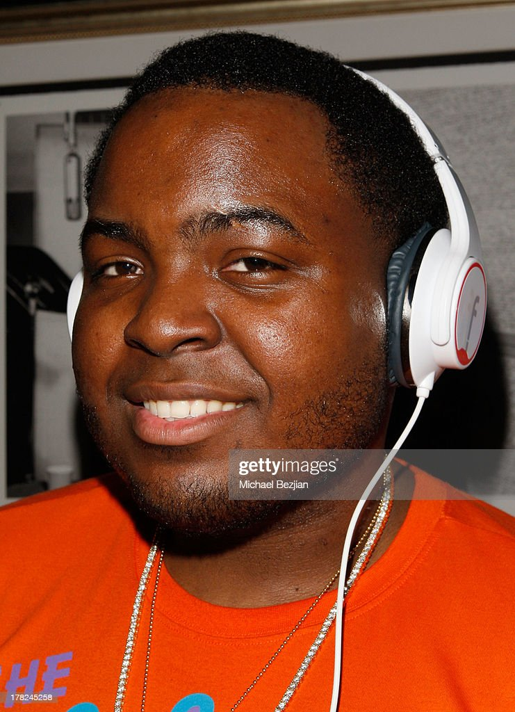 Rapper Sean Kingston attends the Sean Kingston 'Back 2 Life' Listening Session Presented By Flips Audio at Bootsy Bellows on August 27, 2013 in West Hollywood, California.