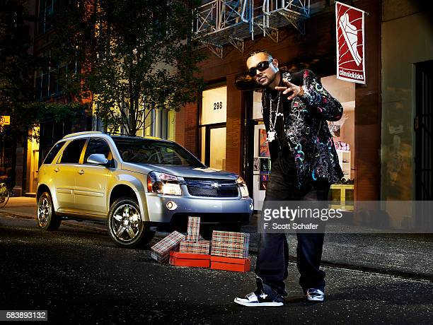 Rapper Sean Paul is photographed in 2007 in New York City