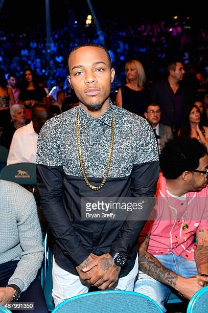 Rapper Shad 'Bow Wow' Moss attends the 'High Stakes Mayweather v Berto' fight presented by Showtime at MGM Grand Garden Arena on September 12 2015 in...
