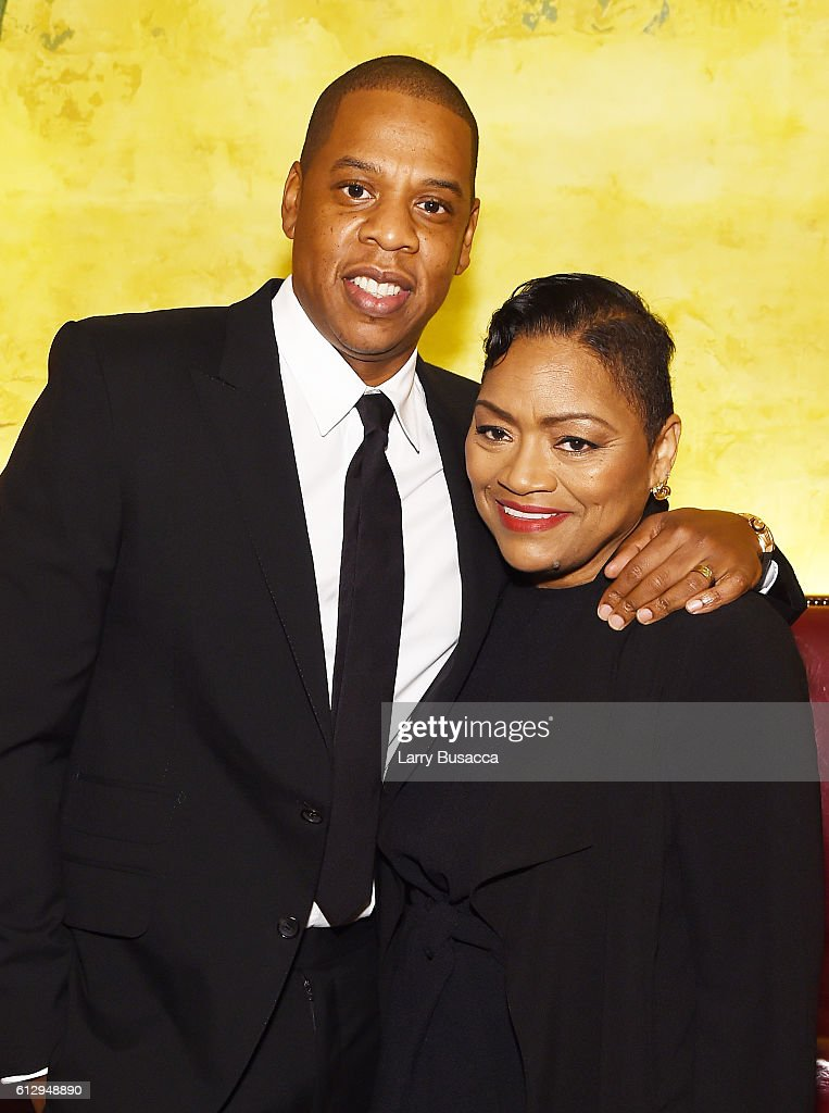 Rapper Shawn 'JAY Z' Carter and Venida Browder attend Shawn 'JAY Z' Carter, the Weinstein Company and Spike TV's announcement of a documentary event series on Kalief Browder on October 6, 2016 in New York City.
