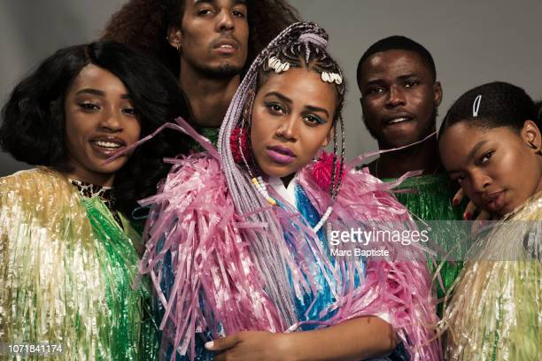 Rapper Sho Madjozi is photographed on August 25 2018 at AfroPunk in Brooklyn New York