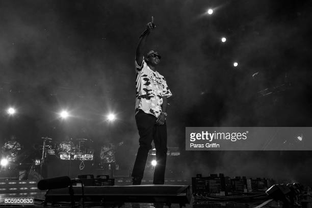 Rapper Silk The Shocker performs onstage at 2017 Essence Festival at Mercedes-Benz Superdome on July 2, 2017 in New Orleans, Louisiana.