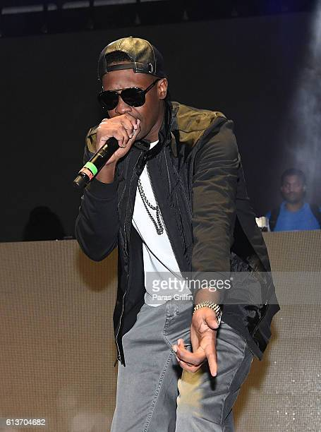 Rapper Silkk the Shocker performs on stage at A3C Festival And Conference on October 9, 2016 in Atlanta, Georgia.