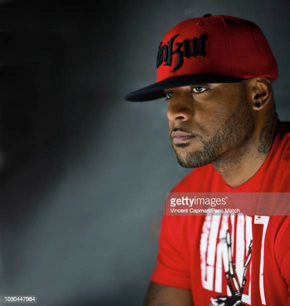 Rapper singer Booba aka Elie Yaffa is photographed for Paris Match on September 6 2011 in Paris France