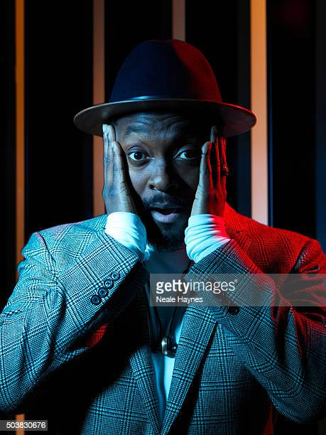 Rapper singer songwriter entrepreneur actor DJ record producer and philanthropist William is photographed for the Times on December 21 2015 in London...