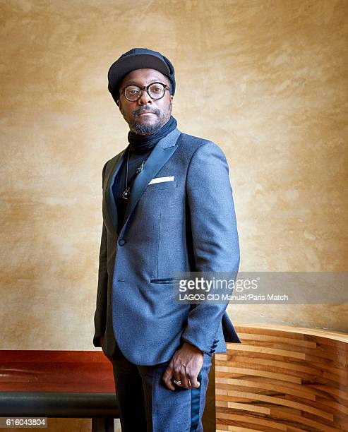 Rapper singer songwriter entrepreneur actor DJ record producer and philanthropist William is photographed for Paris Match on October 19 2016 in Paris...