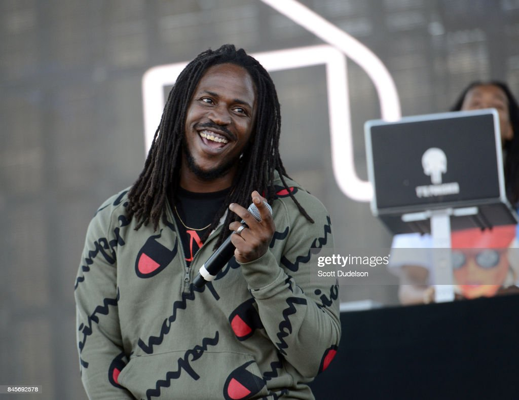 Rapper SIR performs onstage during the Day N Night Festival at Angel Stadium of Anaheim on September 10, 2017 in Anaheim, California.