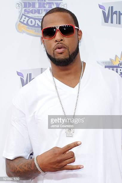 Rapper Slim Thug attends 2010 VH1 Hip Hop Honors at Hammerstein Ballroom on June 3 2010 in New York New York