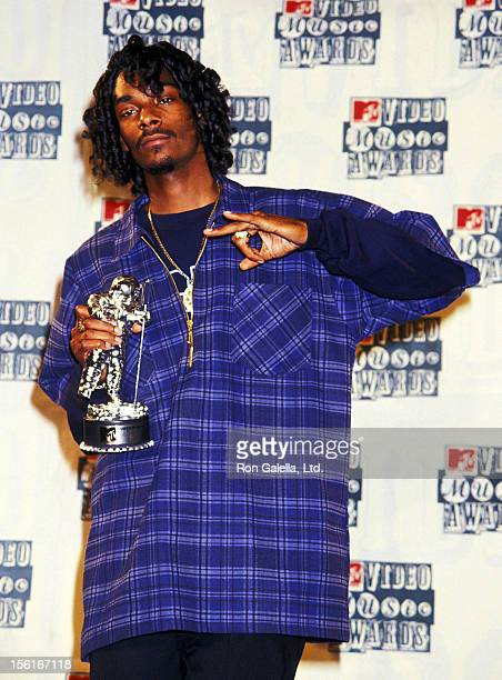 Rapper Snoop Dogg attends 11th Annual MTV Video Music Awards on September 8 1994 at Radio City Music Hall in New York City