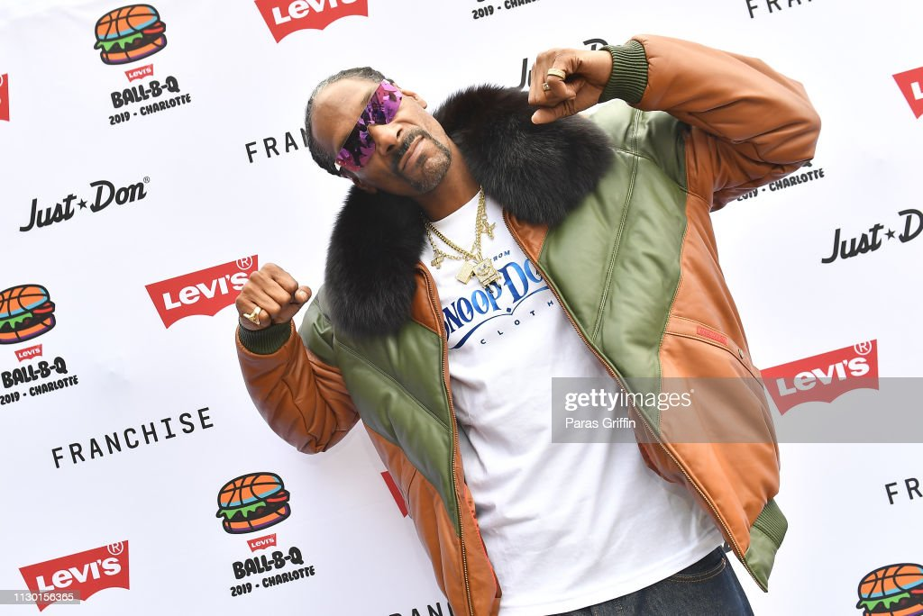 NC: Levi's® All-Star Weekend Ball-B-Q With Just Don And Snoop Dogg