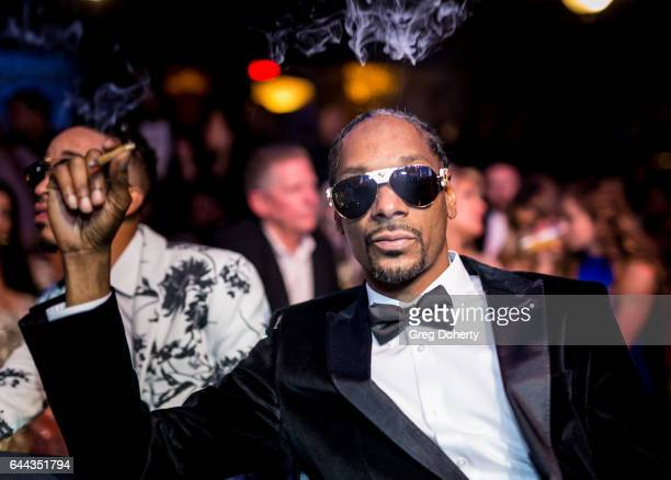 Rapper Snoop Dogg attends the 2nd Annual All Def Movie Awards at Belasco Theatre on February 22 2017 in Los Angeles California