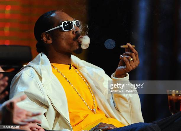 Rapper Snoop Dogg attends the Comedy Central Roast Of Donald Trump at the Hammerstein Ballroom on March 9 2011 in New York City