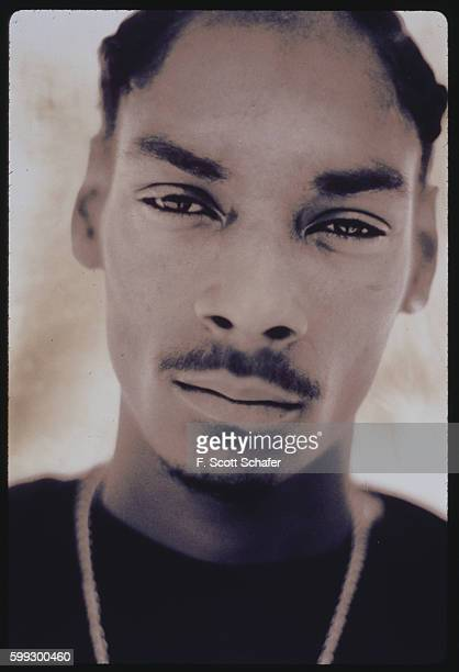 Rapper Snoop Dogg is photographed for Vibe Magazine in 1994