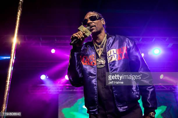 Rapper Snoop Dogg performs at The Fillmore on December 18, 2019 in Charlotte, North Carolina.