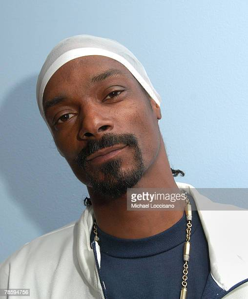"""Rapper Snoop Dogg visits MTV's """"Sucker Free"""" at MTV Studios in New York City's Times Square on November 29, 2007. The air date for this show is..."""