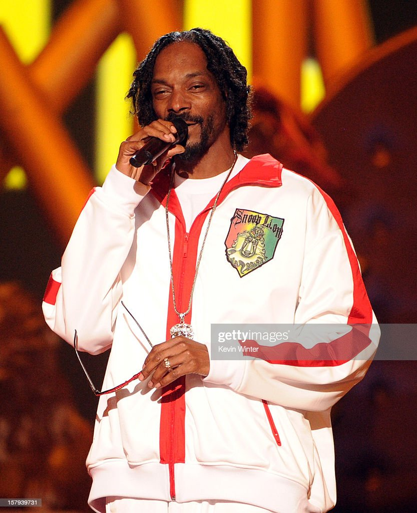 Rapper Snoop Lion performs onstage during Spike TV's 10th annual Video Game Awards at Sony Pictures Studios on December 7, 2012 in Culver City, California.