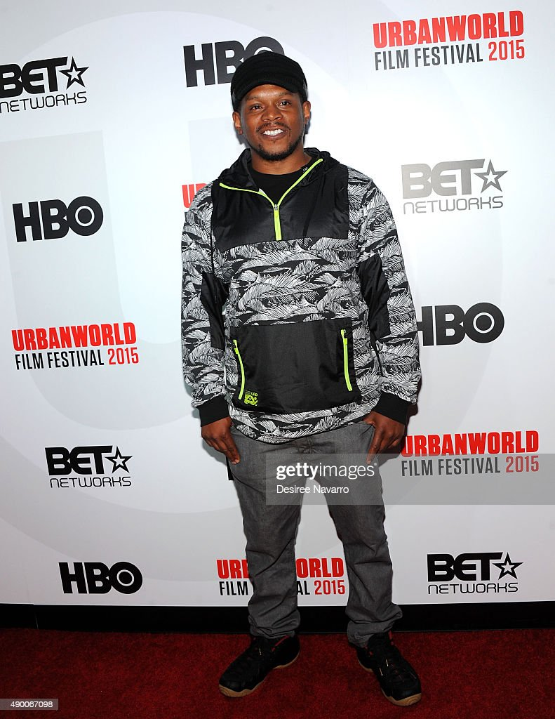Rapper Sway Calloway attends 2015 Urbanworld Film Festival at AMC Empire 25 theater on September 25, 2015 in New York City.