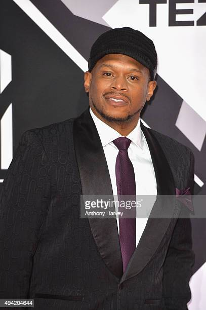 Rapper Sway Calloway attends the MTV EMA's 2015 at the Mediolanum Forum on October 25 2015 in Milan Italy