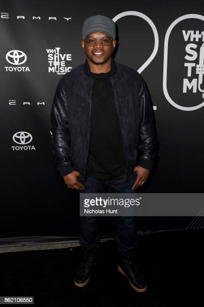 Rapper Sway Calloway attends VH1 Save The Music 20th Anniversary Gala at SIR Stage37 on October 16 2017 in New York City