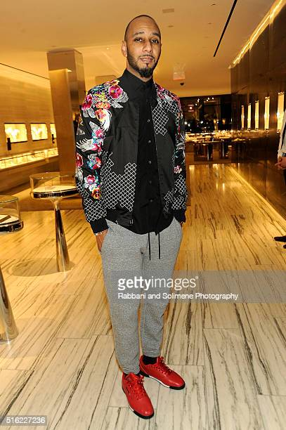 Rapper Swizz Beatz attends the Barneys New York celebration of its new downtown flagship in New York City on March 17 2016 in New York City