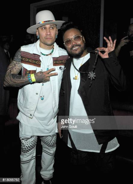 Rapper Taboo and apldeap of Black Eyed Peas at BODY at ESPYS at Avalon on July 11 2017 in Hollywood California