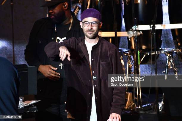 Rapper The Alchemist performs onstage during the Mac Miller: A Celebration of Life benefit concert on October 31, 2018 in Los Angeles, California.