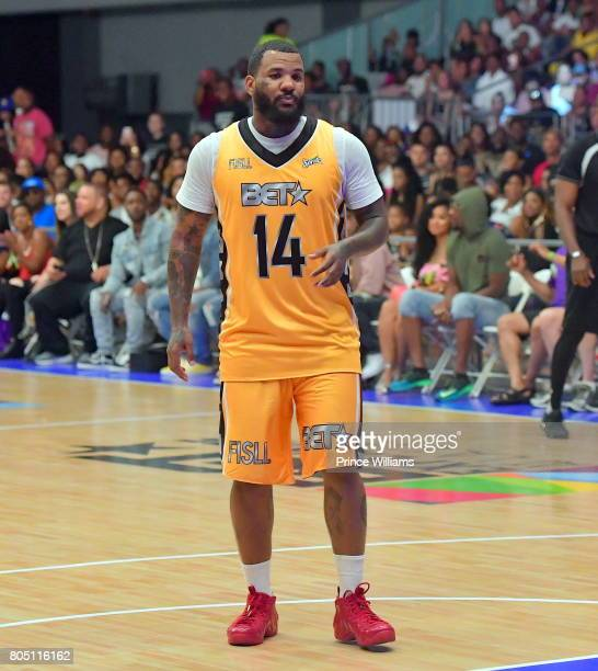 Rapper The Game attends the Celebrity Basketball Game During the 2017 BET Experience at the Los Angeles Convention Center on June 24 2017 in Los...
