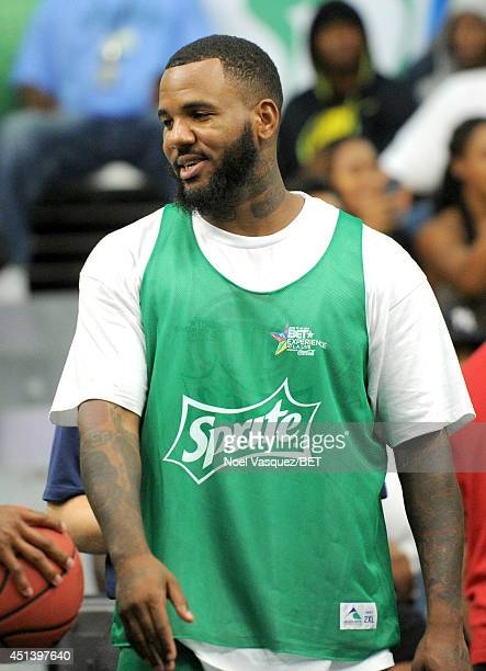 Rapper The Game attends the Sprite Celebrity Basketball Game during the 2014 BET Experience At LA LIVE on June 28 2014 in Los Angeles California