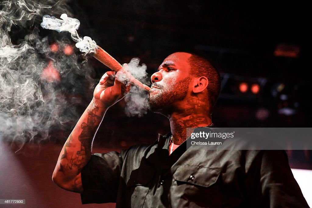 Rapper The Game performs at 'The Documentary' 10th anniversary party and concert on January 18, 2015 in Los Angeles, California.