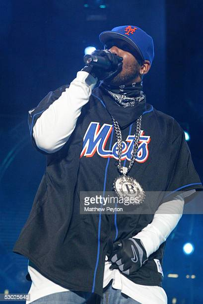 Rapper The Game performs at the Hot 97 Summer Jam 2005 Concert June 5 2005 at Giant Stadium in East Rutherford New Jersey