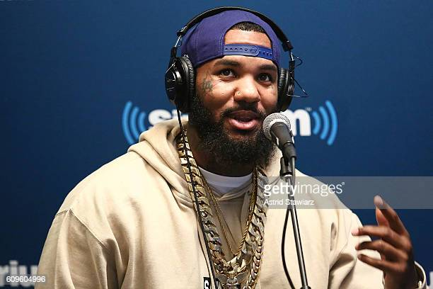 Rapper The Game visits the SiriusXM Studios on September 21, 2016 in New York City.
