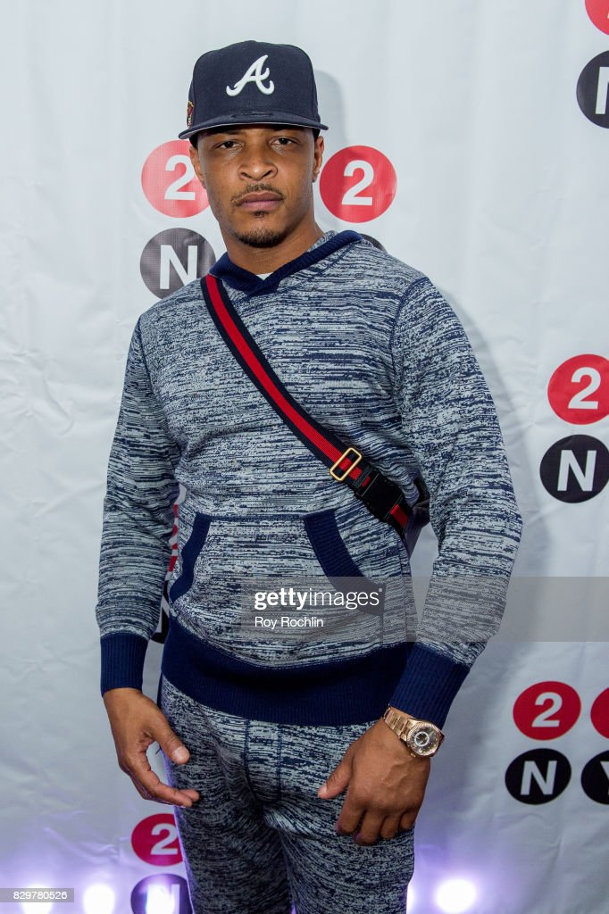 Rapper T.I. attends the 9th Annual 212NYC Summer Party at Pier 16 on August 10, 2017 in New York City.