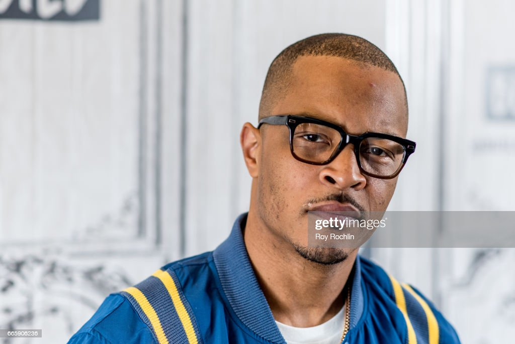 """Build Series Presents T.I. Discussing """"T.I. & Tiny: The Family Hustle"""" : News Photo"""