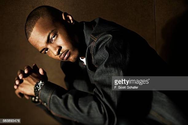 Rapper TI is photographed for XXL Magazine on April 21 2010 in New York City